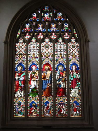 Stained Glass, Church of St. Edwards by Areopagus, on Flickr