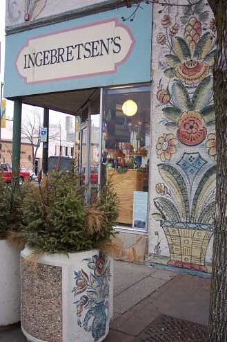 Ingebretsen's Mural - corner of 16th and E Lake Street