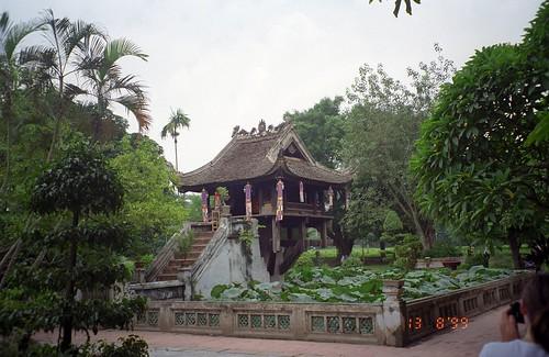 Pagoda de un solo pilar