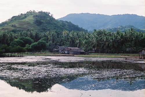Northern end of Riung village