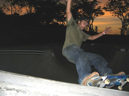 frontside in costa rica.