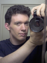 I told you I was a fast healer (Ryan Brenizer) Tags: 2005 nyc selfportrait me bathroom mirror fight fuji may injury ofme finepixs2pro noflash crime wound mugging carpeicthus sigma28300mmf3563dl flickr:user=carpeicthus
