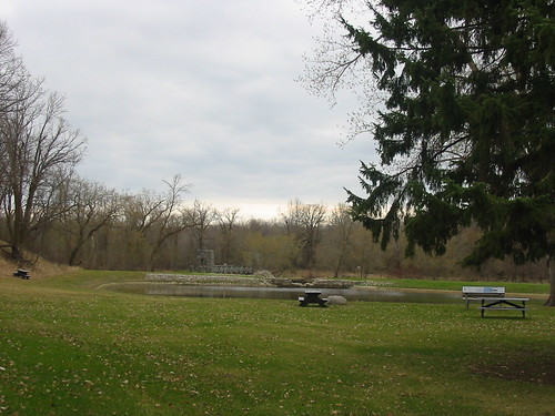 Swimming area & bridge