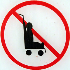 No buggies (Leo Reynolds) Tags: california usa holiday sign canon eos 350d losangeles hollywood squaredcircle f56 buggy peril pram iso1600 pushchair signsafety signno squsa 0ev 0008sec 112mm hpexif signcirclebar signprohibit titanhitour titanhitour2006 groupperil xintx xratio11x sqset009 xleol30x