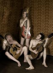 guitar nude extravaganza - by Djuliet