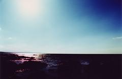 A man called Sun (nialler78) Tags: ireland sea beach xpro cross kodak slide kerry ballybunion ektachrome processed e6 e100vs