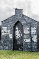 Builly Fury and old clippings, The Mural Project (hilofoz) Tags: bootle merseyside england uk