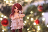 Mister Bear (redmaiko) Tags: fairyland bjd tinybjd littlefee rose cute tree bokeh christmas