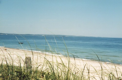 Cape Cod, MA -- beach sea water ocean green cape cod atlantic massachusetts coast shore blue