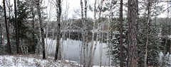 Lake St. Peter, Ontario (winter) (ick Harris) Tags: winter panorama ontario canada geotagged cottage algonquin lakestpeter geolon78015461 geolat45325539 regioncottagecountry