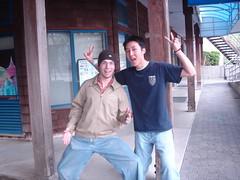 Justin and Jon (just5) Tags: justin wushu ucdavis jon