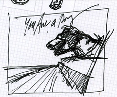 You Are a Dog Cover Sketch