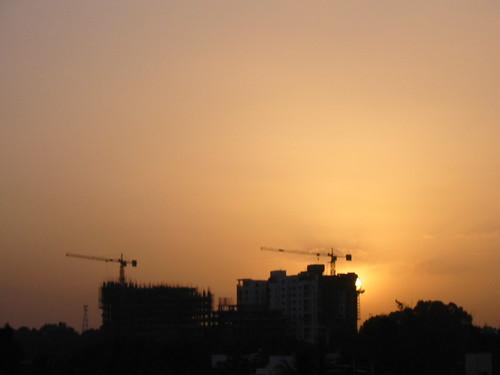 Bangalore under construction