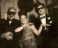 Teheran 1951 (ART NAHPRO) Tags: vintage photo election dress mask iran persia fancy masquerade teheran 1951 fantomas iranpersia téhéran top20op disputed