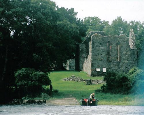 Abbey ruins on Innisfallen Island, Ireland