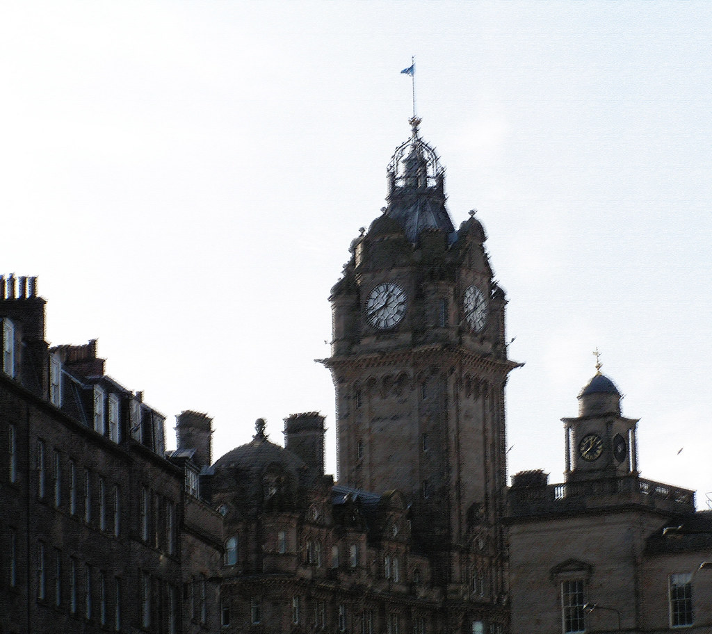 Balmoral Hotel from Leith Street