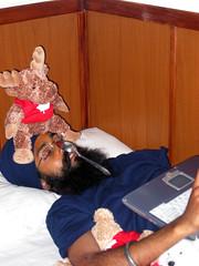preet takes a break (_brady) Tags: preetmangat asleep prank funny spoon moose