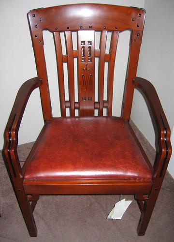 replica Greene & Greene chair