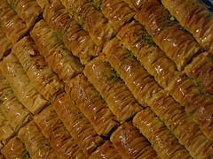 Baklava (Dey) Tags: spicebazaar melbourne food wine festival baklava sweet dessert