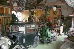 Old garage.