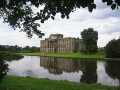 Lyme Hall, a.k.a. Pemberley - by Patrn