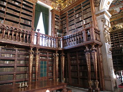 Coimbra - University Library Interior