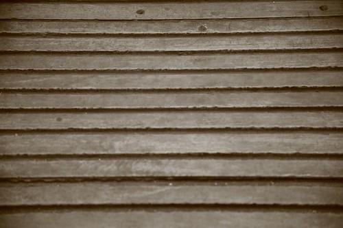 District line carriage wooden floor