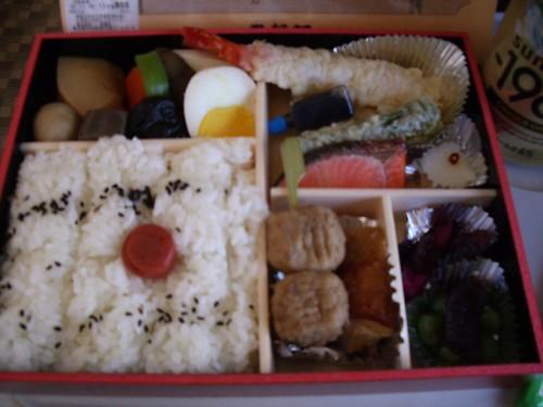 My bento meal by jeffkole