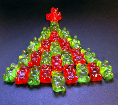 Only 24 More Gummi Days Till Christmas! (Sister72) Tags: christmas xmas red favorite holiday green yummy candy handmade gummibears bears treats christmastree sweets daystillchristmas gummi gummybears sister72 gummies 2550favs december12005 redandgreen spottedoninterestingness christmassugarrush 3000views onemostfav
