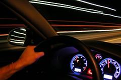 moving at the speed of light (Ben McLeod) Tags: longexposure car vw volkswagen interestingness driving flickrimportr passat