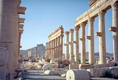 Syria - Palmyra - 11-29 (Jeff_Werner) Tags: syria travel backpacking ruins fortress citadel roman