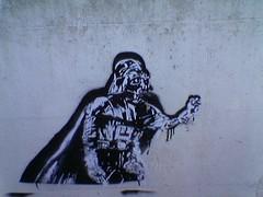 Vader on the wall (Vishaal) Tags: sith vader