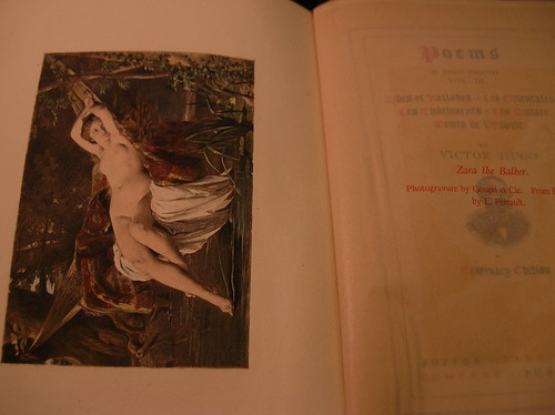 Victor Hugo book fan photo
