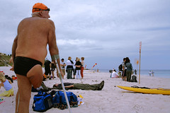 True grit (North Cott Open Water Swim) (sengsta) Tags: beach swimmer openwater northcottesloe olderfolk