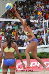 SEAG: Beach Volleyball (SKT Digital Productions) Tags: seag seagames beachvolleyball kierontan sktdigital philippines bacolod lasalle