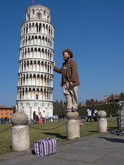 james saves the day (stephiblu) Tags: 2005 italy tower james spring travels italia pisa cheesy tichenor