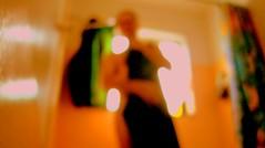 Emerge #3 (O Caritas) Tags: portrait people selfportrait me window self bathroom shower bath curtain towel bathtub emerge ocaritas