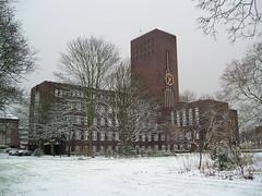 City Hall Wilhelmshaven (perspective-OL) Tags: wilhelmshaven snow schnee lebt rathaus geotagged geolat53522043 geolon8118725