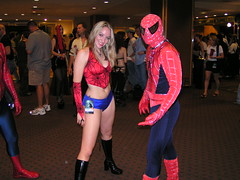 Spiderman and Spiderchick