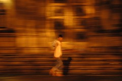 Captivated blur (... Arjun) Tags: city shadow urban 15fav cloud mist man blur topv111 fog night 1025fav 510fav wow walking lights movement haze nikon asia alone philippines d70s smudge noflash 1870mmf3545g hide 2550fav figure 50100fav smear shape vague intramuros confuse obscure distort indistinct mesmerized fascinated conceal enthralled rapt awestruck captivated haziness aop