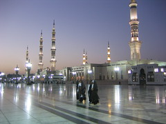 The Prophet's Mosque at Sunrise, Medina