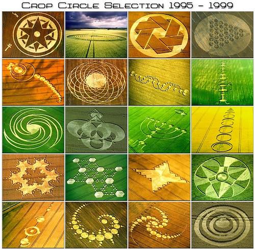 Crop Circles 1995-1999 (ミステリーサークル)