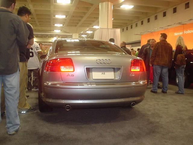 sanfranciscointernationalcarshow2005 audi a8 short wheel base quattro