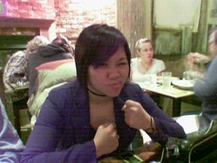 Jessica, Curmudgeon (termie) Tags: mobile jessica nguyen beanbagcafe sanfrancisco california fenchurch