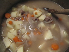 Making Japanese Curry, Pre-Boil