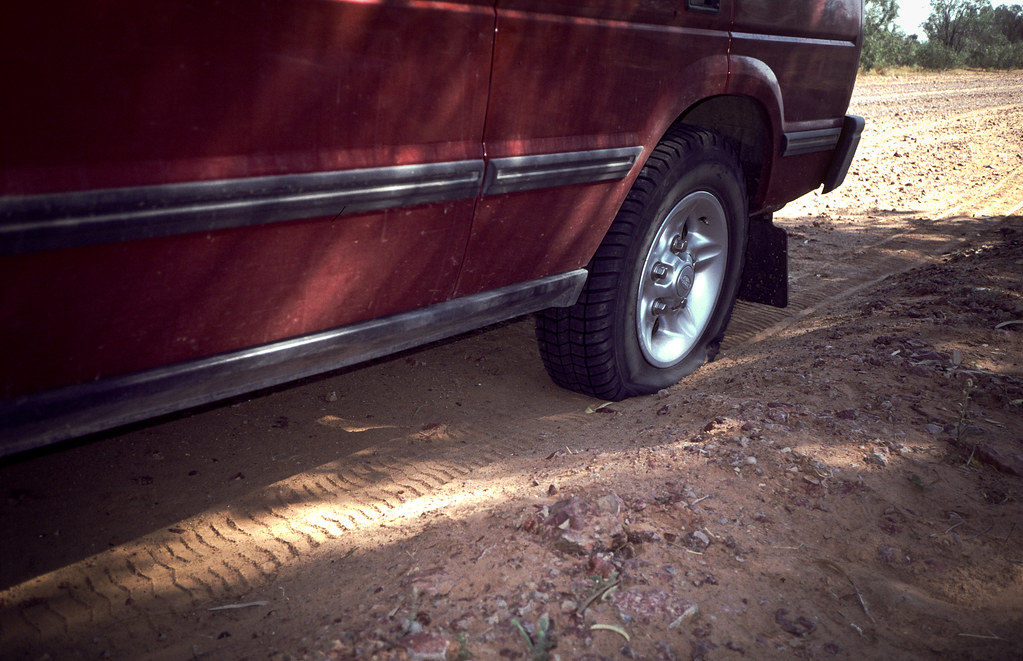 First Flat Tyre, Birdsville Track