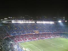 Mitja part a l'estadi