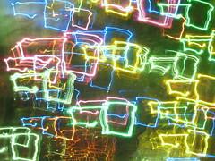 christmas light squares
