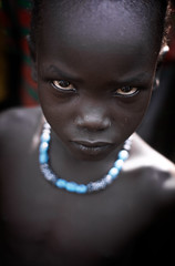 Surma boy (foto_morgana) Tags: ethiopia surma tribes portraits theface africa ethnic tribal young kibish stare eyes highlevelview