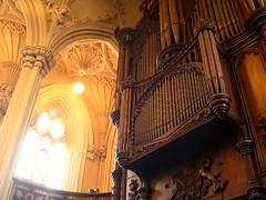 Pipe Organ in the Chapel at Dublin Castle